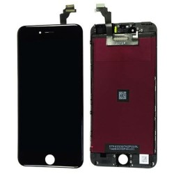 Display Lcd + Touch + frame per Apple Iphone 6 Plus Nero