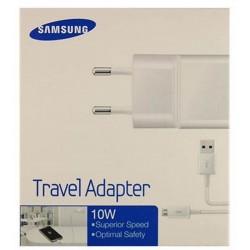 Samsung Caricatore da rete 2A + Cavo microusb (ETA-U90+ECB-DU4AB) Retail Bianco