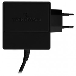 NOTEBOOK CHARGER HD 100W RIVESTITO IN GOMMA NERO
