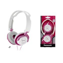 Panasonic Cuffie Stereo Ripiegabili e ultra compatte DJS150 Rosa