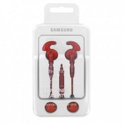 Samsung auricolari a filo in-Ear EO-EG920B , Rosso