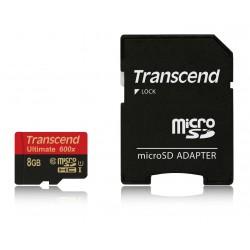 Transcend 8 GB microSDHC Class 10 UHS-I 600x