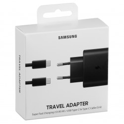 Samsung USB-C 45W Wall Charger Nero
