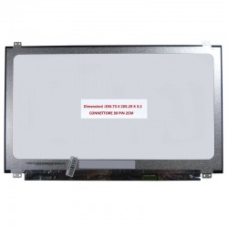 Display 15,6 LED SLIM HD 30 PIN SMALL SIZE
