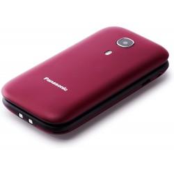Panasonic Cellulare TU400 di facile utilizzo Rosso Bordeaux