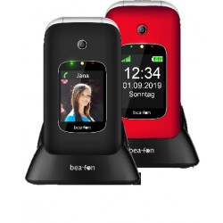 Beafon Cellulare GSM CLAMSHELL SL590 RED/SILVER