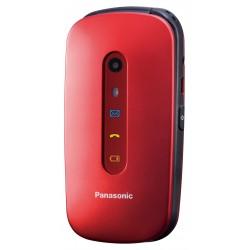PANASONIC TU456 CELLULARE di facile utilizzo Rosso