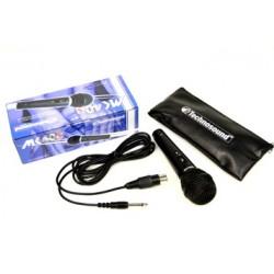 Technosound Microfono Professionale Dinamico Direzionale con Switch MK-40S