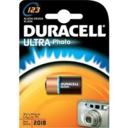 Duracell CR123A - 3volt - Blister 1 Pz. - Confezione 10 Blister