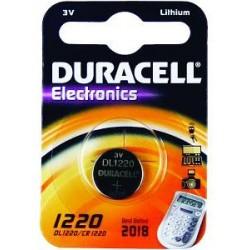 Duracell CR1220 - 3volt - Blister 1Pz. - Confezione 10 Blister