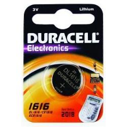 Duracell CR1616 - 3volt - Blister 1Pz. - Confezione 10 Blister