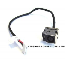 DC Power HP Compaq CQ62, CQ65, G65, G62 8 Pin