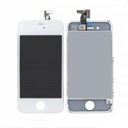 Display Lcd Hd completo di Touch screen e vetro Iphone 4S Bianco