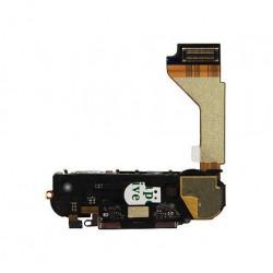 Flat Connettore ricarica completo di microfono suoneria antenna wifi Apple iPhone 4S Nero