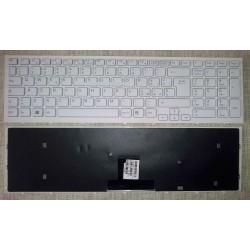 Tastiera Originale Italiana Bianco Sony VPC-EB Serie Completa di frame