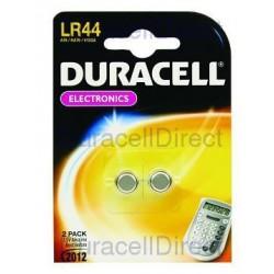 Duracell LR44/V13GA - 1,5volt - Blister 2 Pz. Scatola 10 Blister