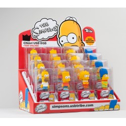 Kit con Espositore The Simpsons 16 PZ