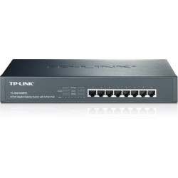 TP-Link SWITCH 8P GIGABIT POE 124W 13INK R