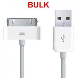 Cavo dati bianco da 30 pin a USB BULK
