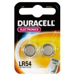 Pila Duracell LR54 1,5v Blister 2 pz. - Confezione 10 Blister