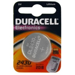 Duracell DL2430 Pila Bottone 3v Litio