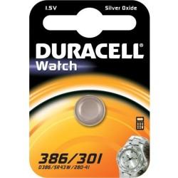 Duracell Pila per orologio 386/301 1,5V