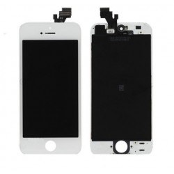 Display Lcd HD + Touch screen e vetro Apple Iphone 5 Bianco