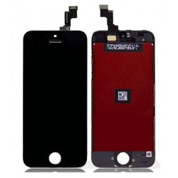 Display + Touch + Frame per Apple Iphone 5S Nero