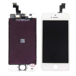 Display + Touch + Frame per Apple Iphone 5S Bianco