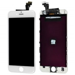 Display Lcd + Touch + frame per Apple Iphone 6 Bianco