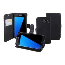 Custodia a libro Nera per Samsung Galaxy S7 Edge SM-G935