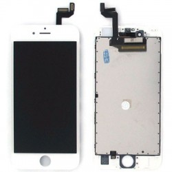 Display Lcd + Touch screen + Frame per Iphone 6S Bianco