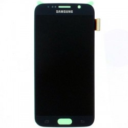 Display Lcd + Touch per Samsung S6 G920 Blu scuro