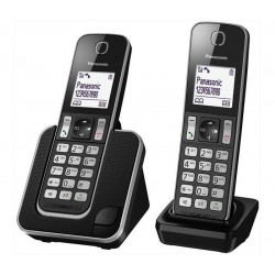 Panasonic Cordless Digitale Duo TGD312 Nero