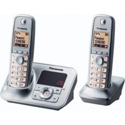 Panasonic Cordless Due Ricevitori con segreteria TG6622