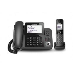 Panasonic Telefono Digitale con segreteria Cordless/Con filo TGF320