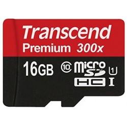 Transcend MicroSd Classe 10 UHS-I (Alta Velocità) 16GB