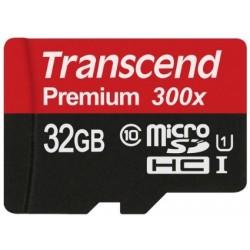 Transcend MicroSd Classe 10 UHS-I (Alta Velocità) 32GB