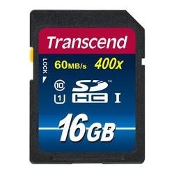 Transcend SD UHS-I Class 10 400x (Premium) 16GB