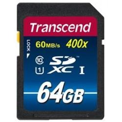 Transcend SD UHS-I Class 10 400x (Premium) 64GB