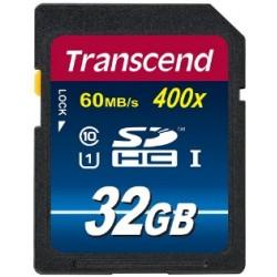 Transcend SD UHS-I Class 10 400x (Premium) 32GB