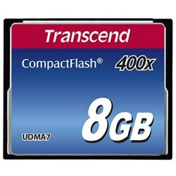 Transcend 400x Extreme Speed CompactFlash 8GB