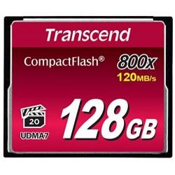 Transcend 800x (Premium) CompactFlash 128GB