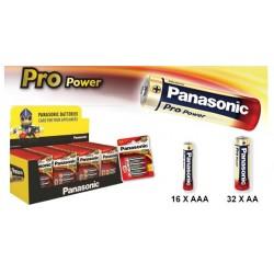 Espositore da banco di batterie Panasonic Pro Power: Stilo e Ministilo