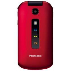 PANASONIC TU329 Telefono di facile utilizzo ROSSO