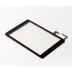 Vetro touch screen Bianco per Ipad Air completo di adesivi e tasto Home