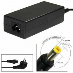 Alimentatore notebook 65W Jack da 5,5*1,7mm