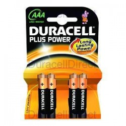 Duracell Mini Stilo LR03 Blister 4Pz Scatola 10