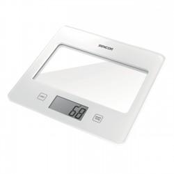 Sencor Bilancia da cucina Ultra Slim SKS 5020WH Bianco