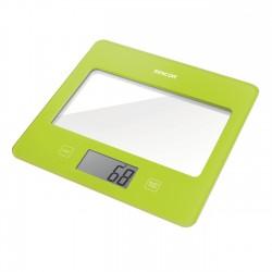 Sencor Bilancia da cucina Ultra Slim SKS 5021GR Verde